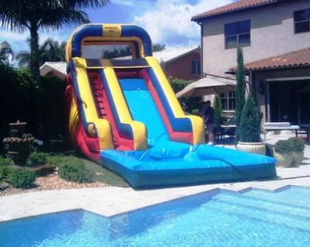 Enjoying Business While Purchasing Drinking Water Slide For Sale Sunny%20water%20slide